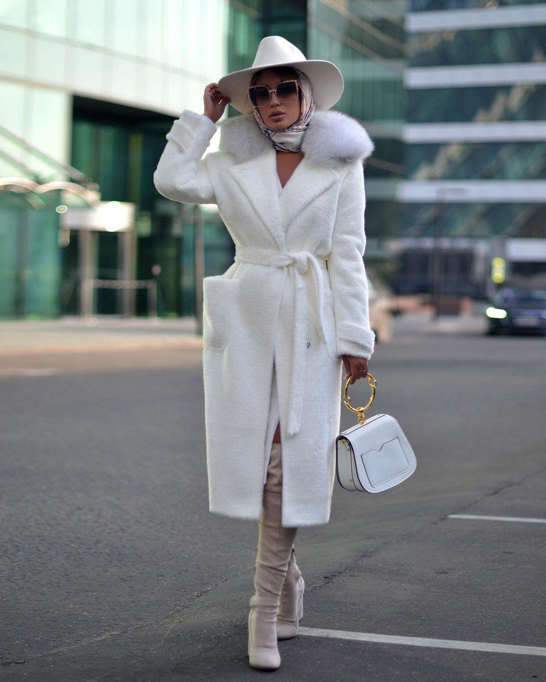 Пальто зимнее с мехом 2020 фото 6