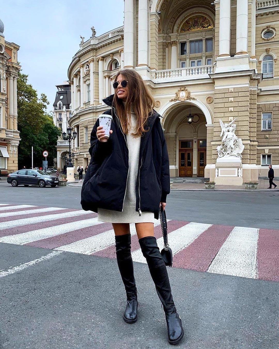 модные зимние образы на каждый день фото 11