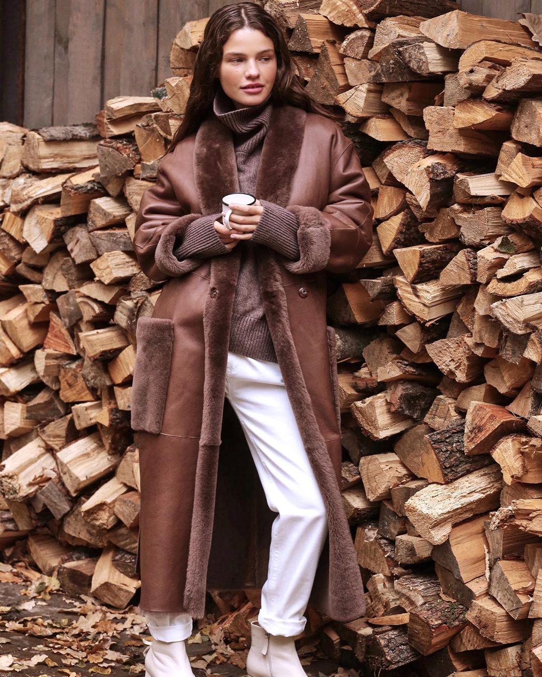 модные зимние образы на каждый день фото 14