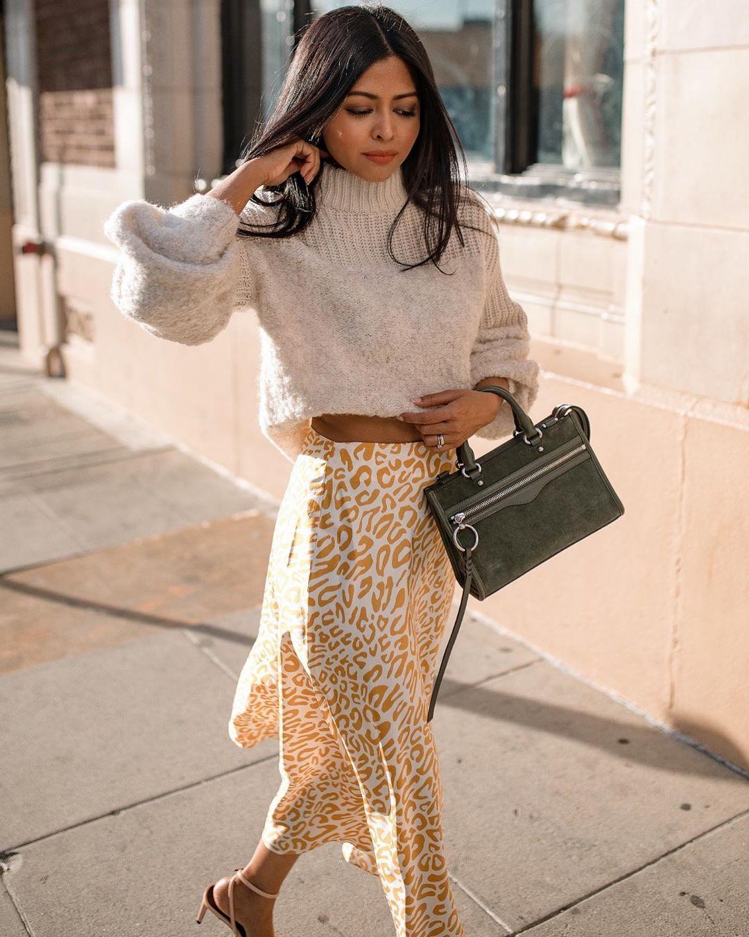 свитер с юбкой фото 3