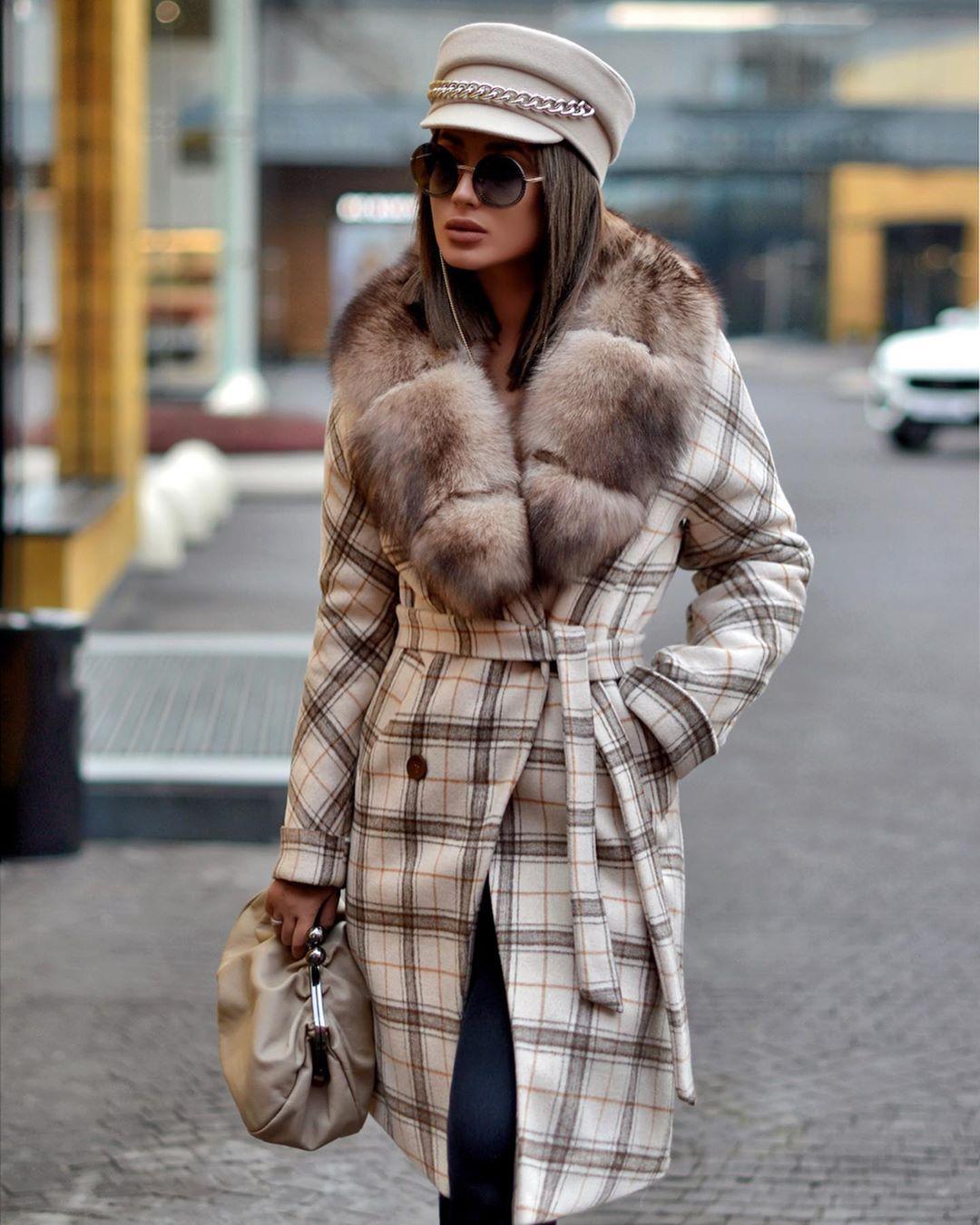 Пальто зимнее с мехом 2020 фото 9