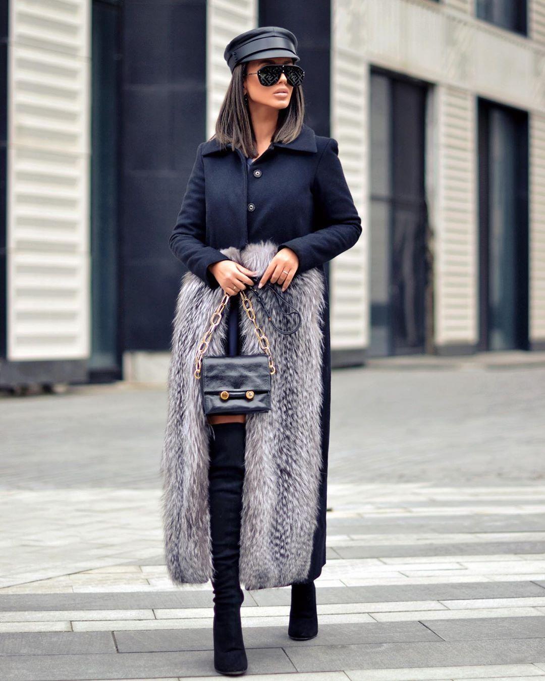 Пальто зимнее с мехом 2020 фото 10