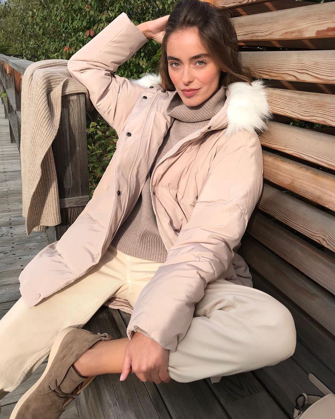 с чем носить зимние куртки с мехом фото 5