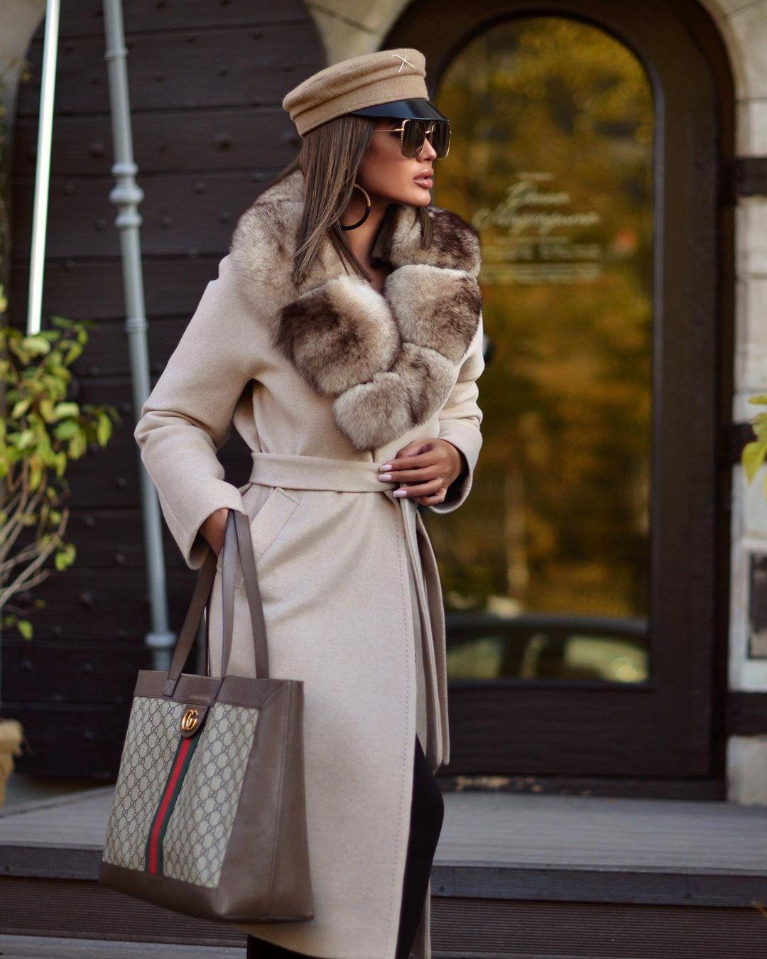 Пальто зимнее с мехом 2020 фото 11