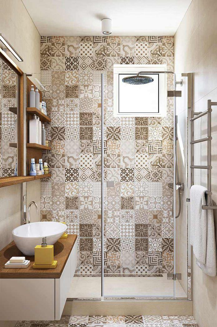 интерьер ванной комнаты фото 8