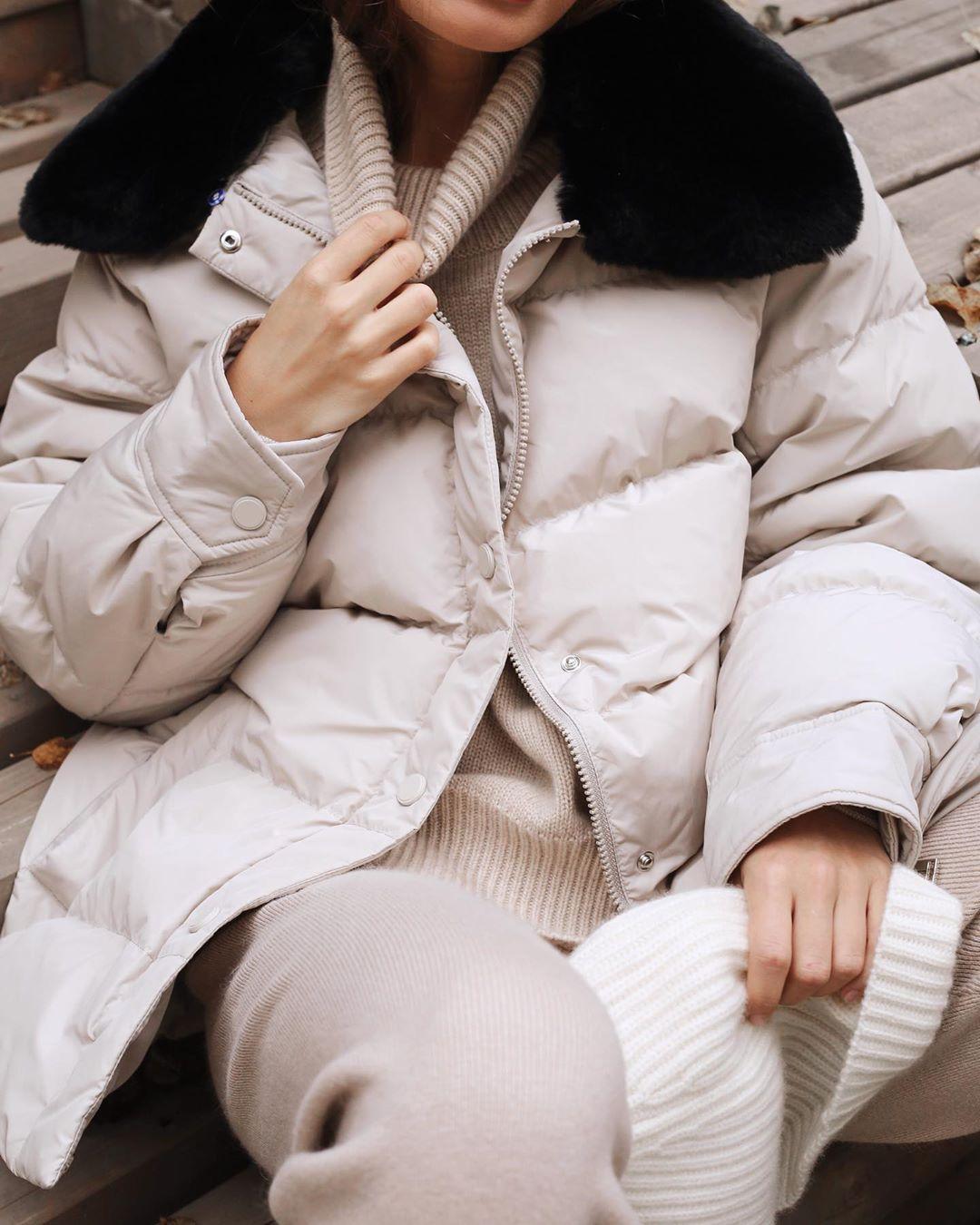 с чем носить зимние куртки с мехом фото 6