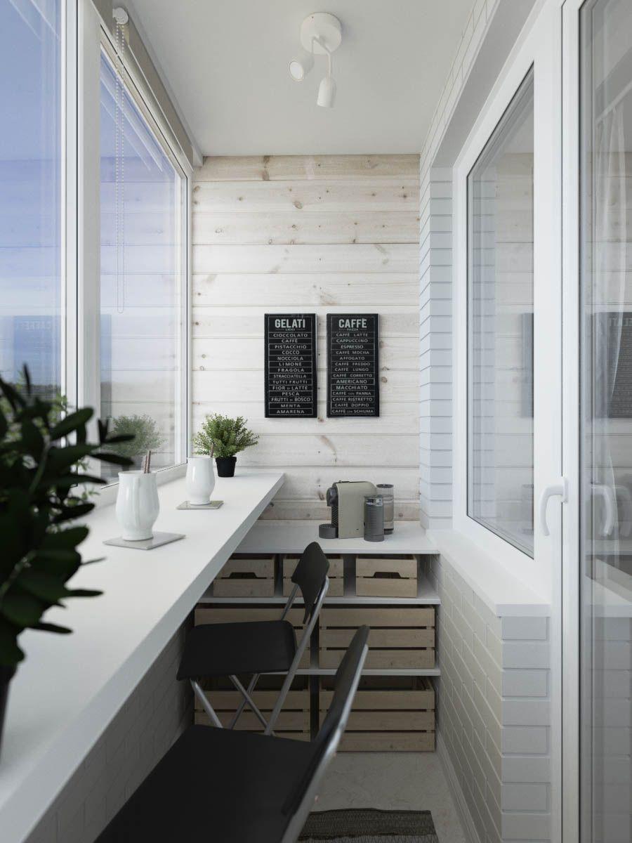 дизайн интерьера балкона фото 1