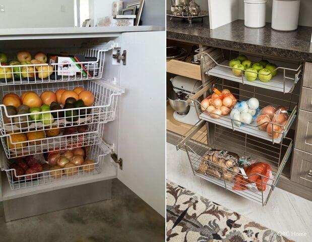 шкафы для хранения кухонной утвари фото 7