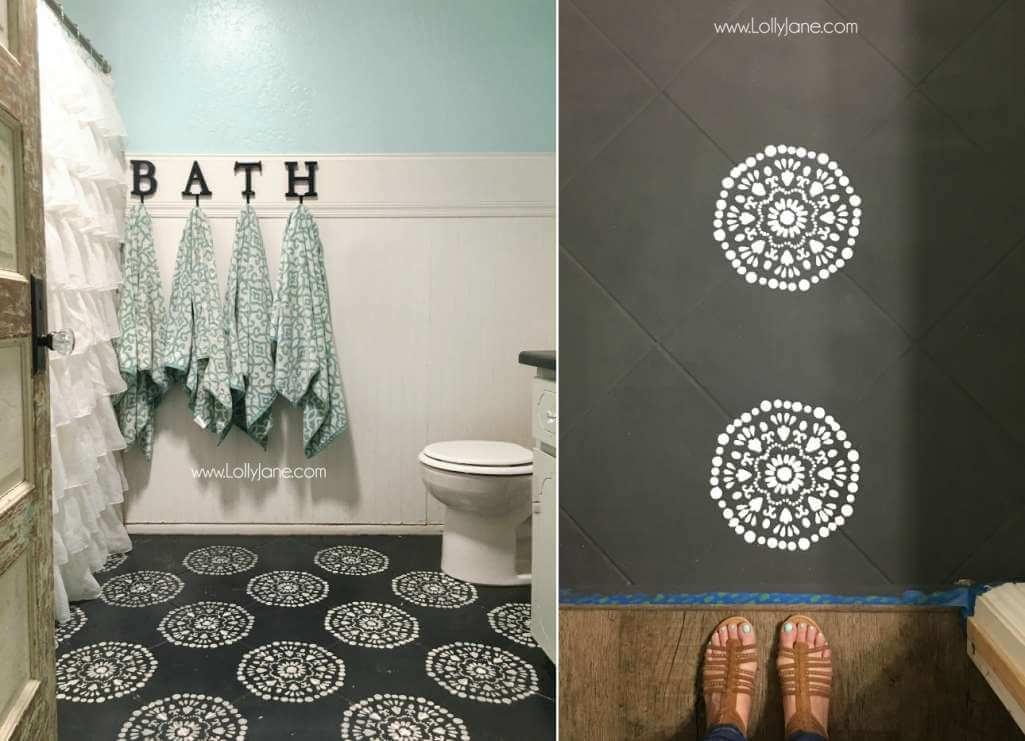 Способы преображения интерьера ванной комнаты фото 7