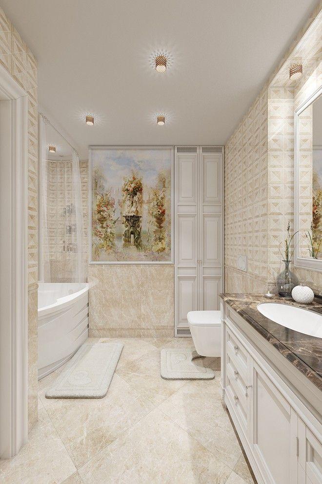 интерьер ванной комнаты фото 16