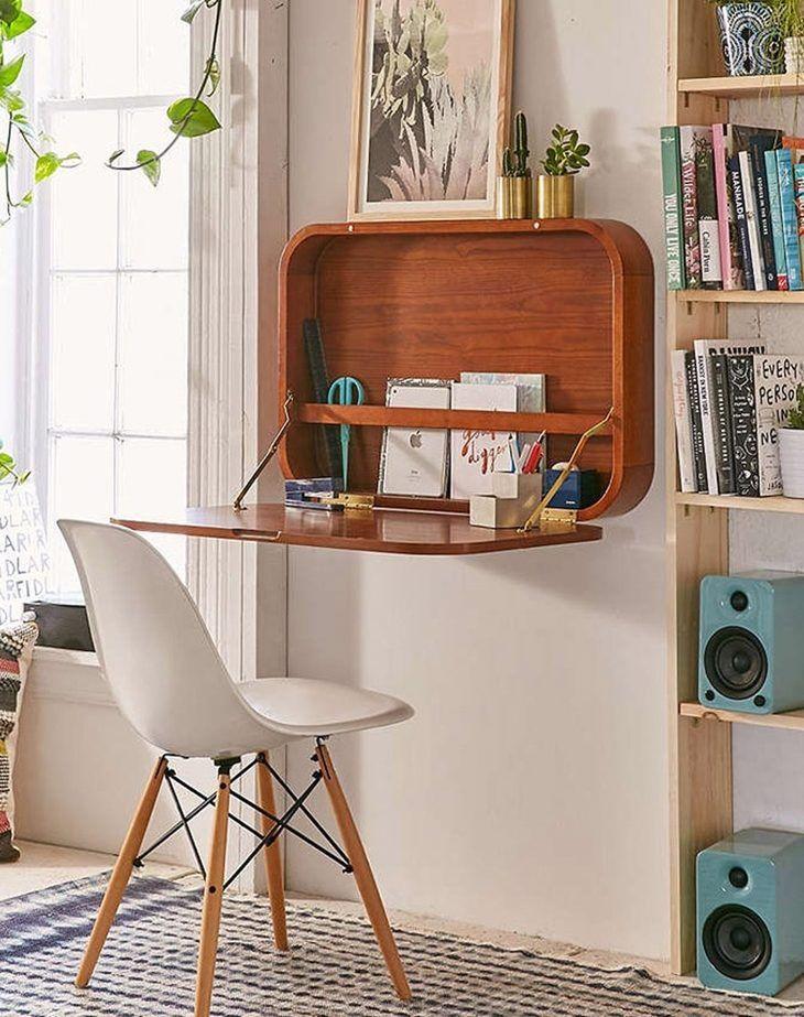 Рабочее место в маленькой квартире фото 5