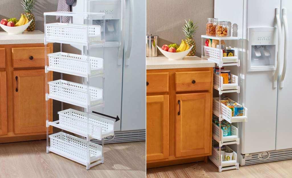 хранение кухонной утвари фото 9