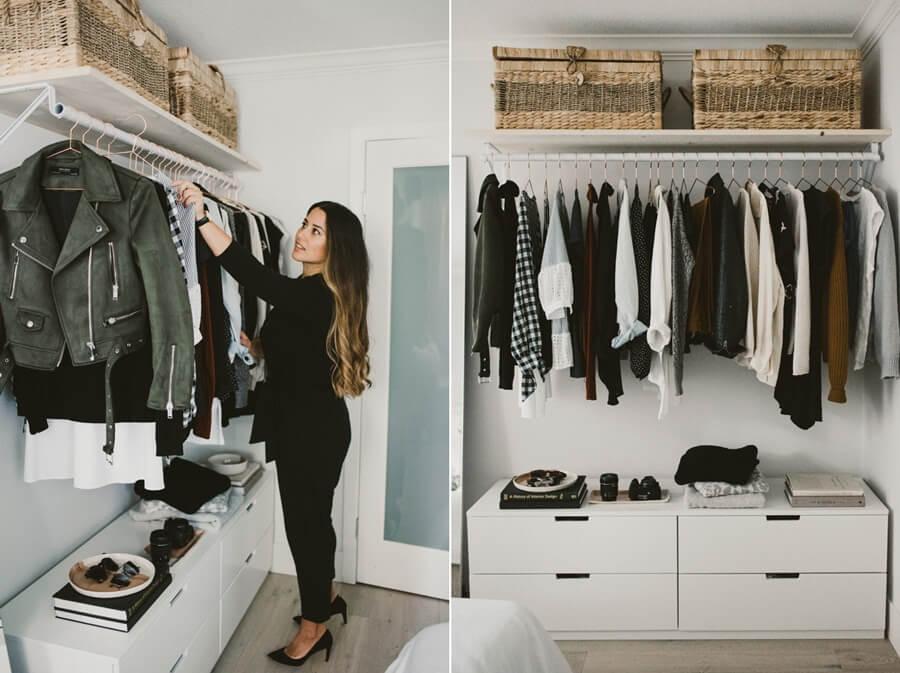 хранение вещей в спальне фото 9