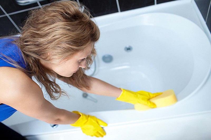 Как очистить ванну в домашних условиях фото 1