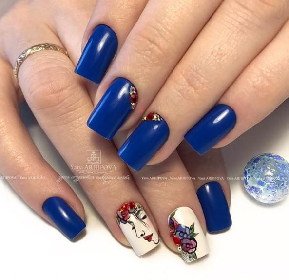 Девушка на ногтях фото 142
