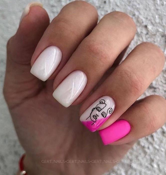 Девушка на ногтях фото 140