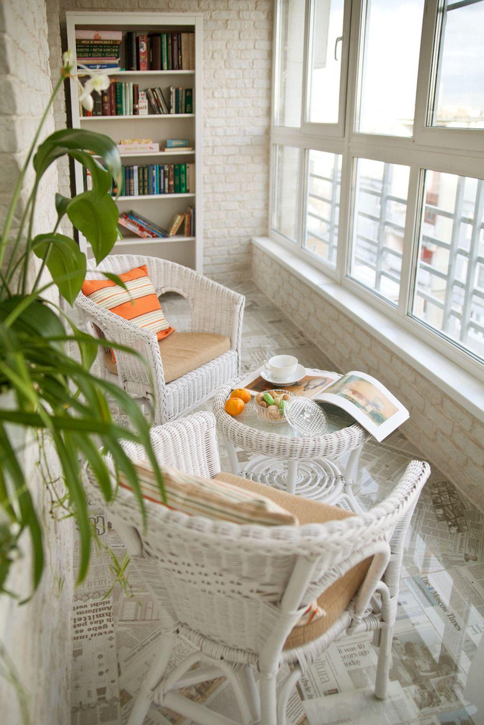 дизайн интерьера балкона фото 17