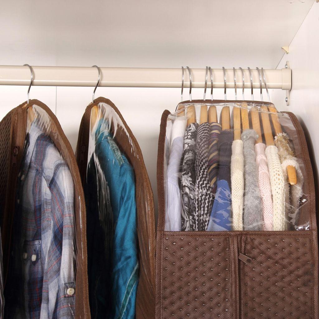 хранение одежды в гардеробе фото 1