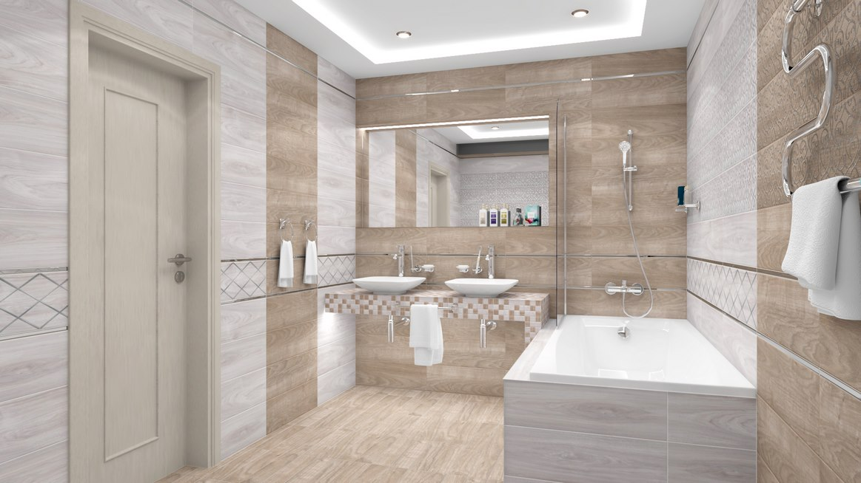интерьер ванной комнаты фото 13