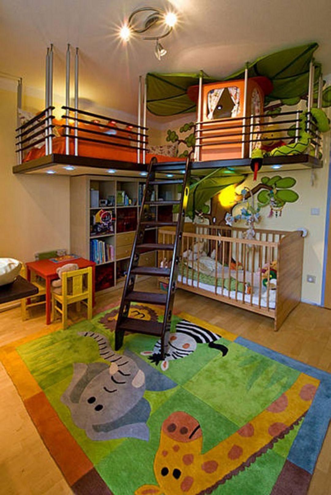 необычные детские комнаты фото 13