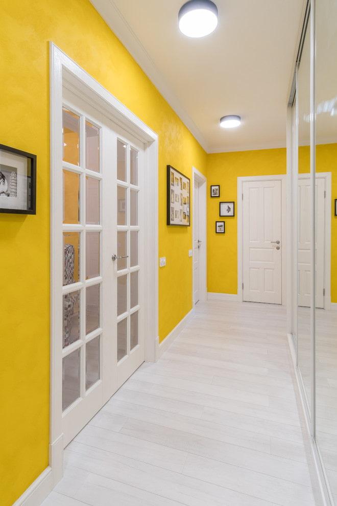 Жёлтый цвет в интерьере фото 13