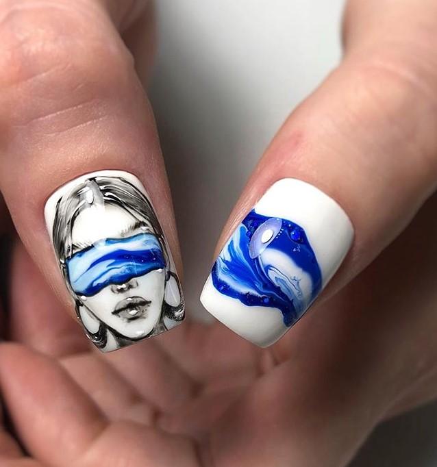 Девушка на ногтях; 200 идей стильной женственности и гибких линий тела!