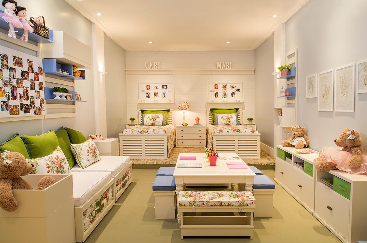 Комнаты для 3-х и более детей фото 31