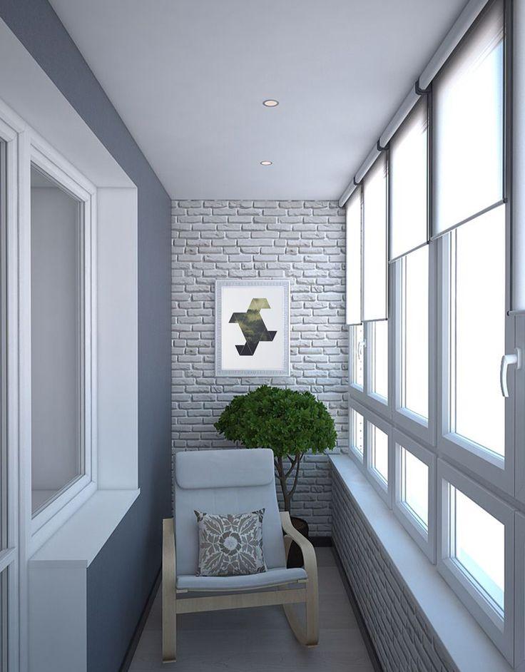 дизайн интерьера балкона фото 4