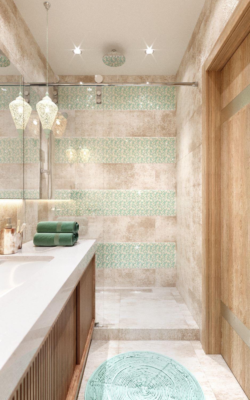 интерьер ванной комнаты фото 12
