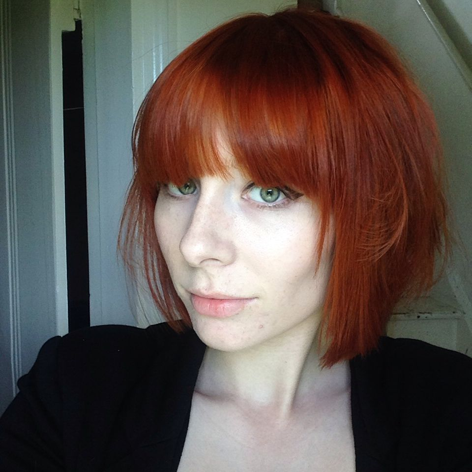 Красные волосы на женщинах 40-50 лет фото 8