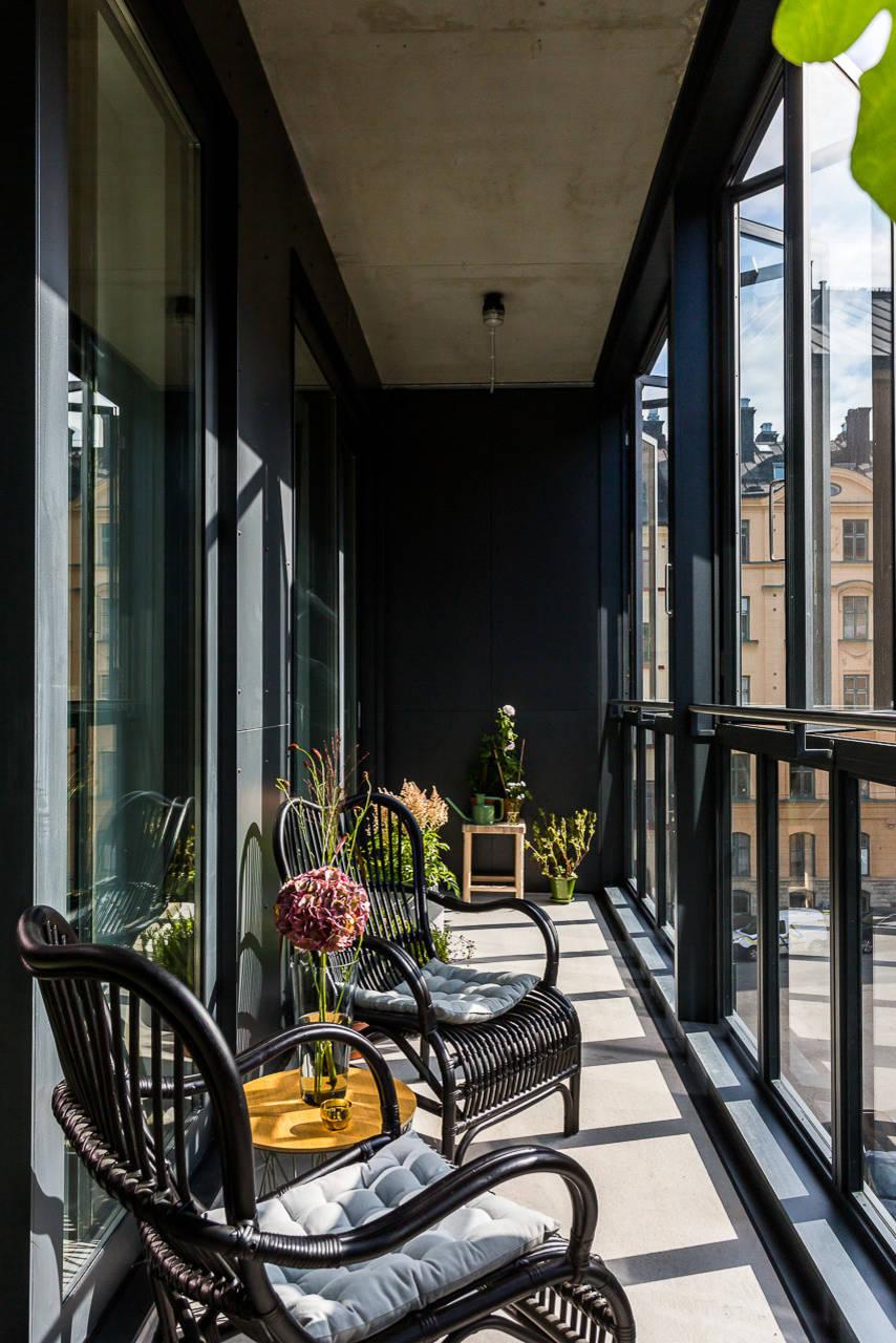 дизайн интерьера балкона фото 14