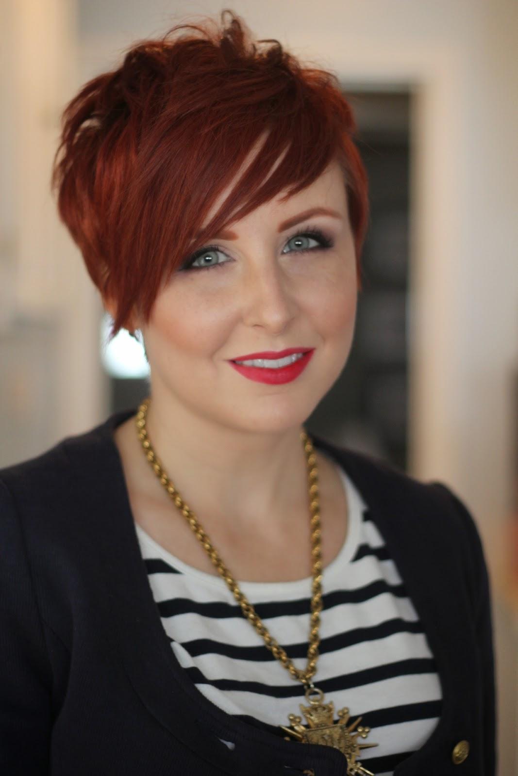 Красные волосы на женщинах 40-50 лет фото 10