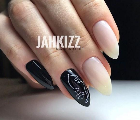 Девушка на ногтях фото 102
