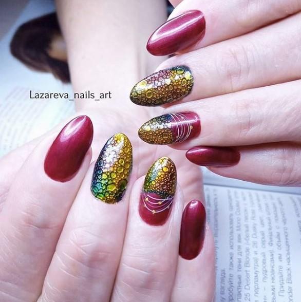 пузырьки на ногтях фото 56