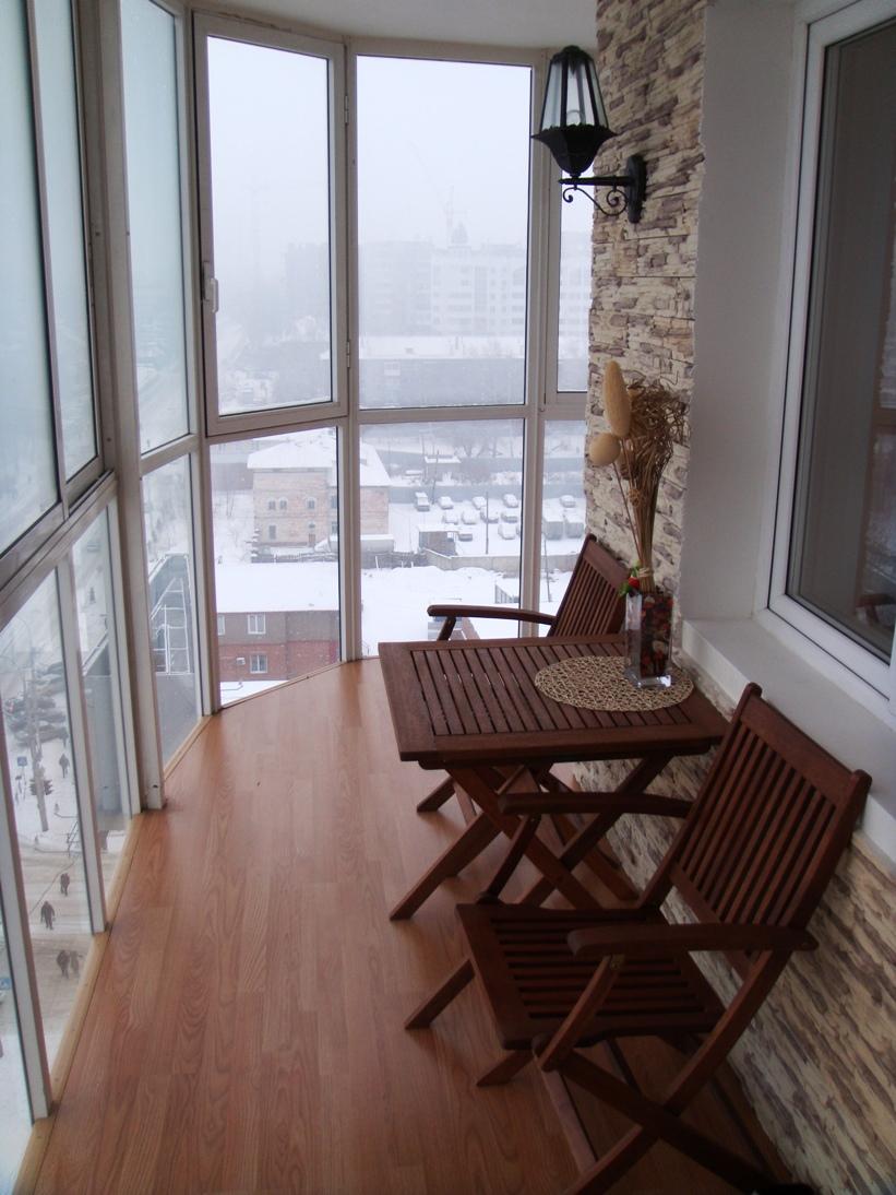 дизайн интерьера балкона фото 15