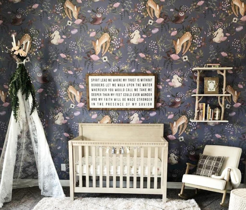 Дизайн интерьера детской комнаты фото 19