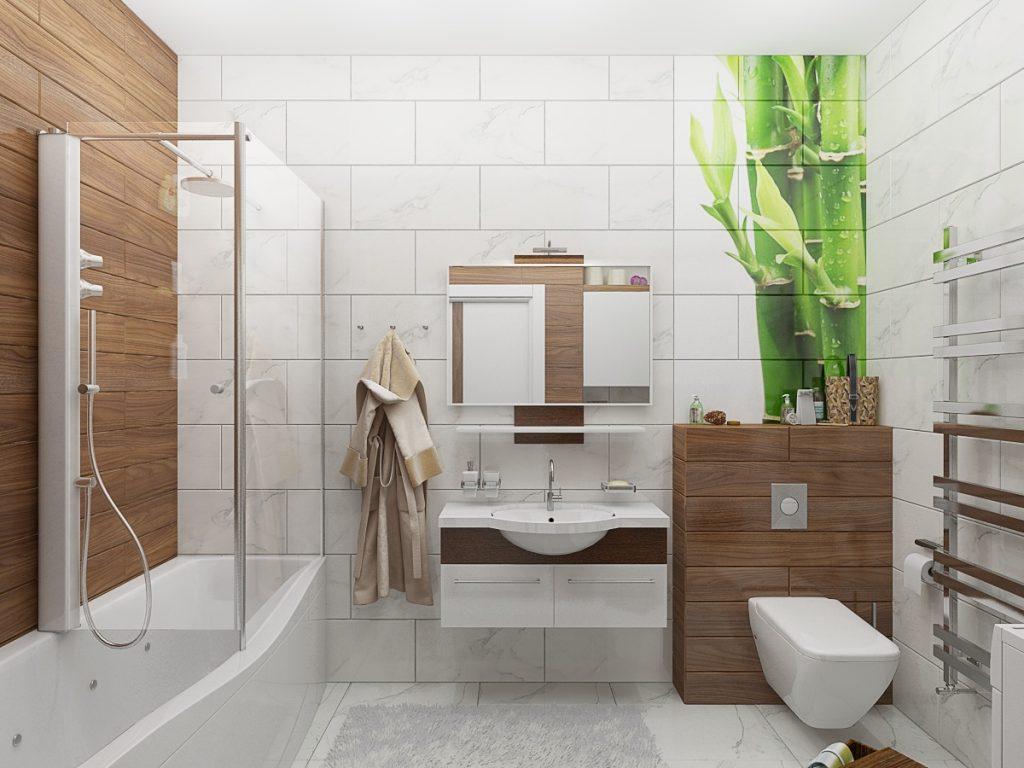 интерьер ванной комнаты фото 19