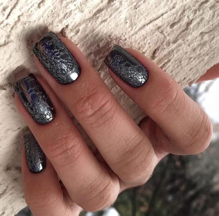 пузырьки на ногтях фото 41