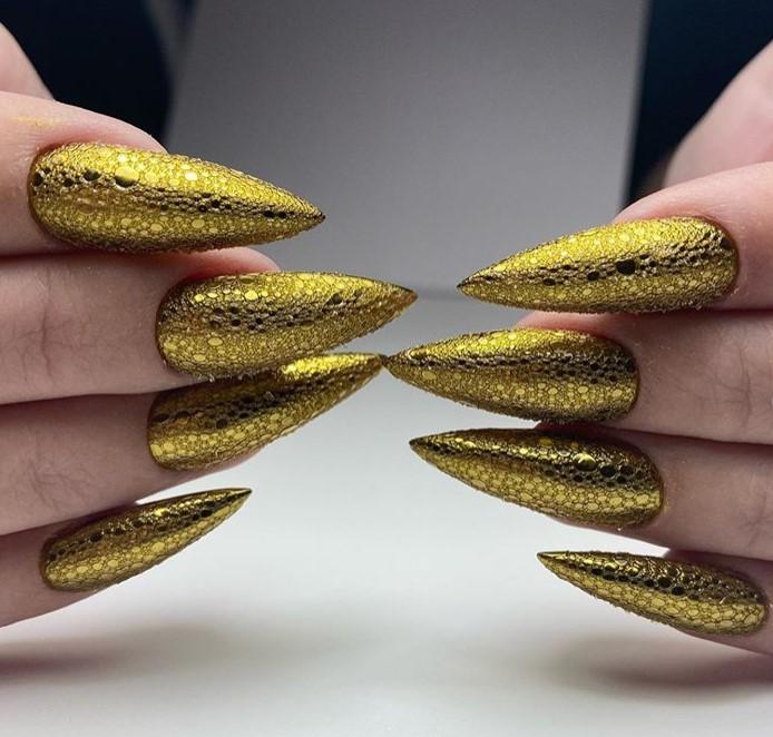 пузырьки на ногтях фото 44