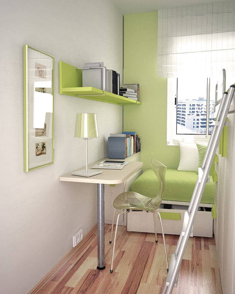Рабочее место в маленькой квартире фото 21