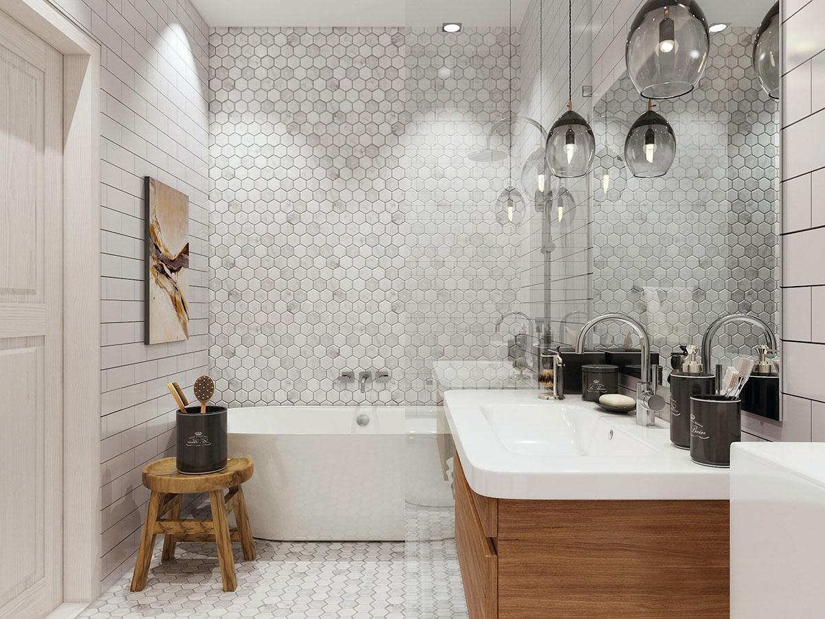 интерьер ванной комнаты фото 21