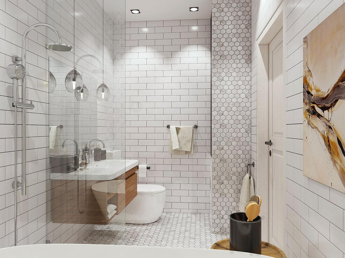 интерьер ванной комнаты фото 22