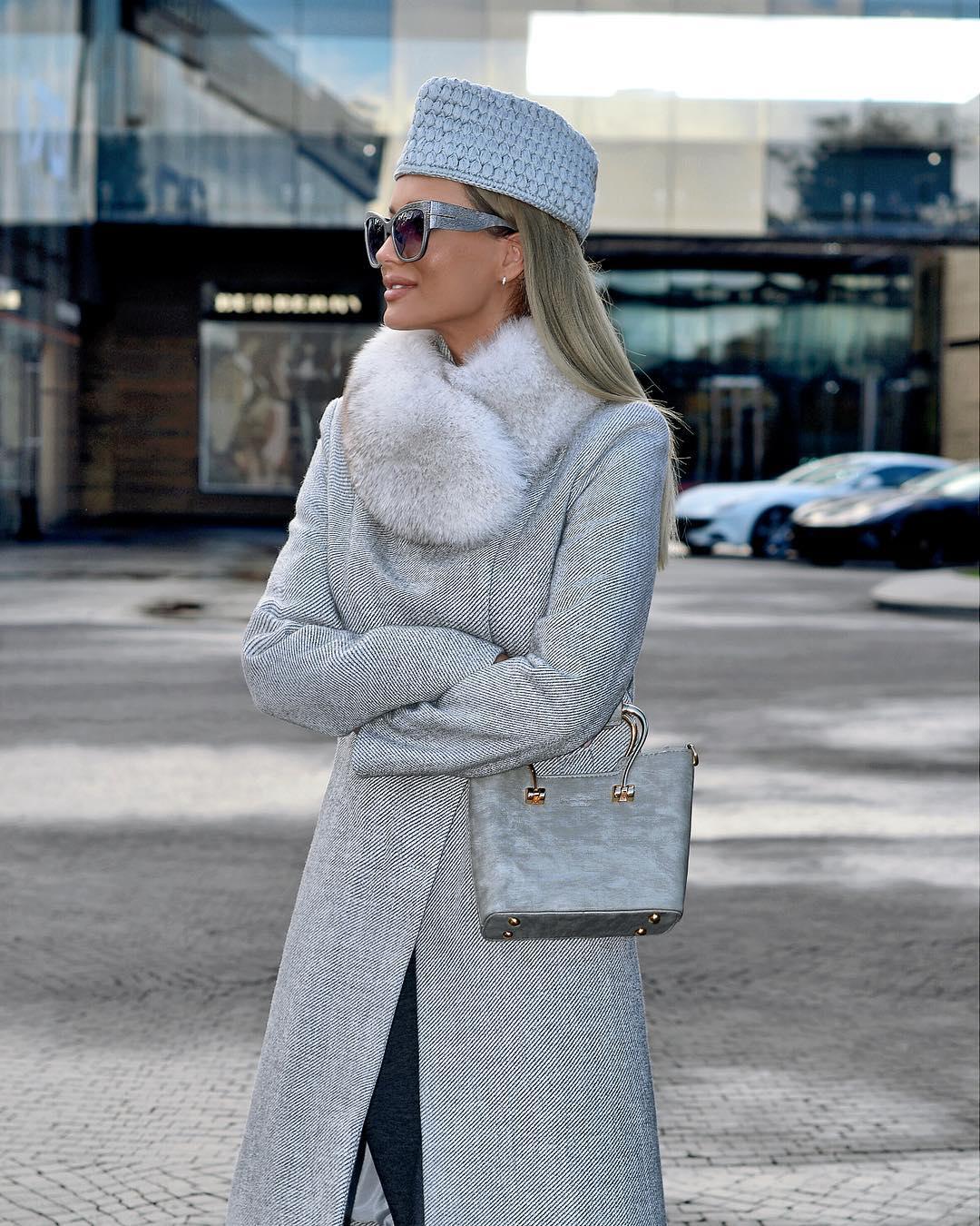 Пальто зимнее с мехом 2020 фото 13