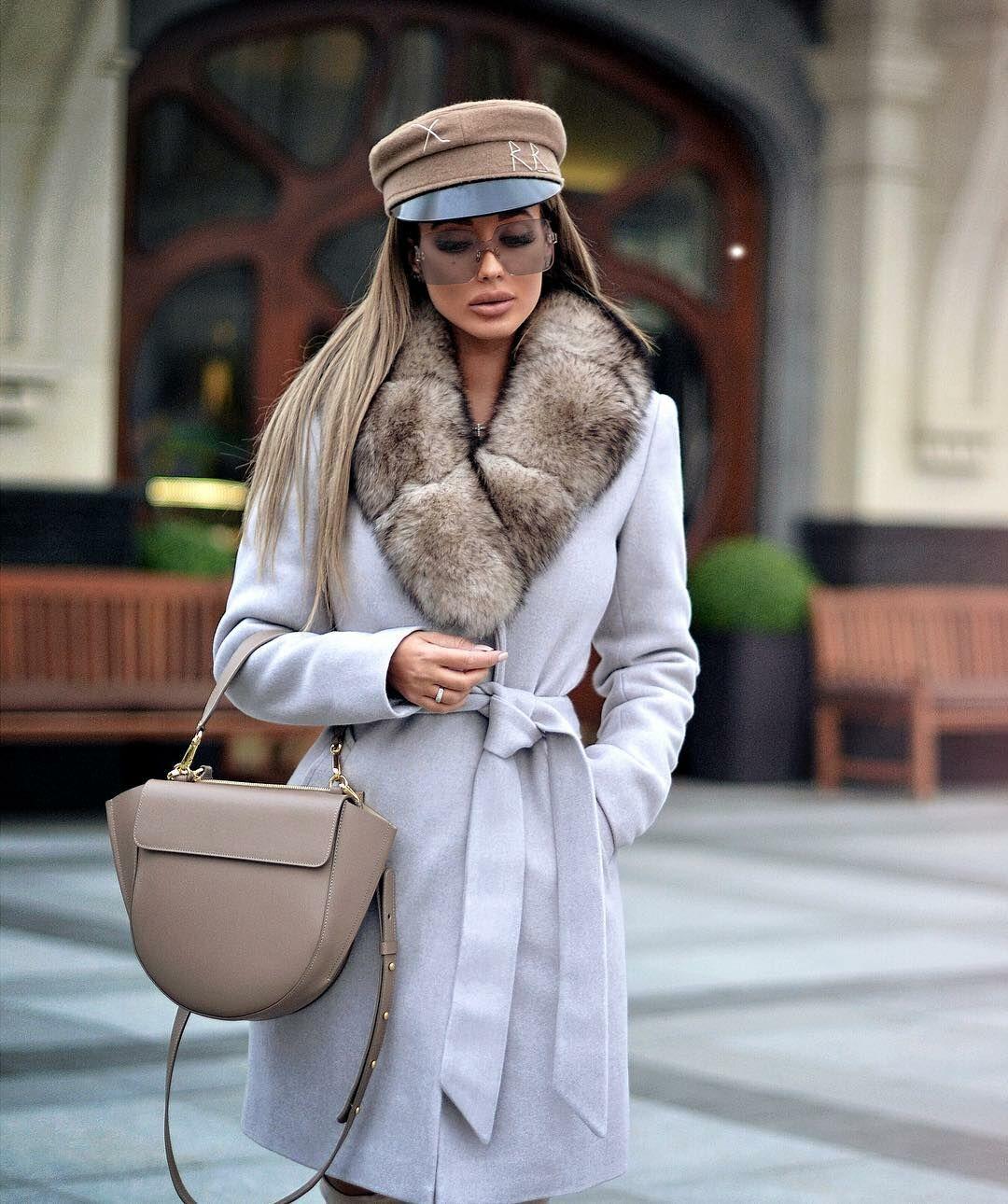 Пальто зимнее с мехом 2020 фото 15