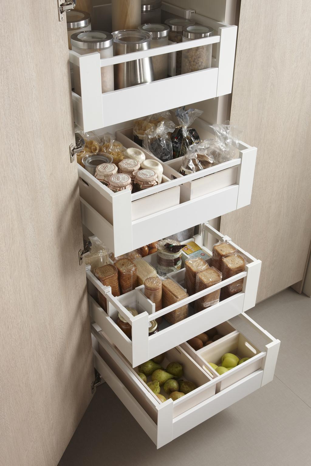 Как сложить продукты на кухне фото 20