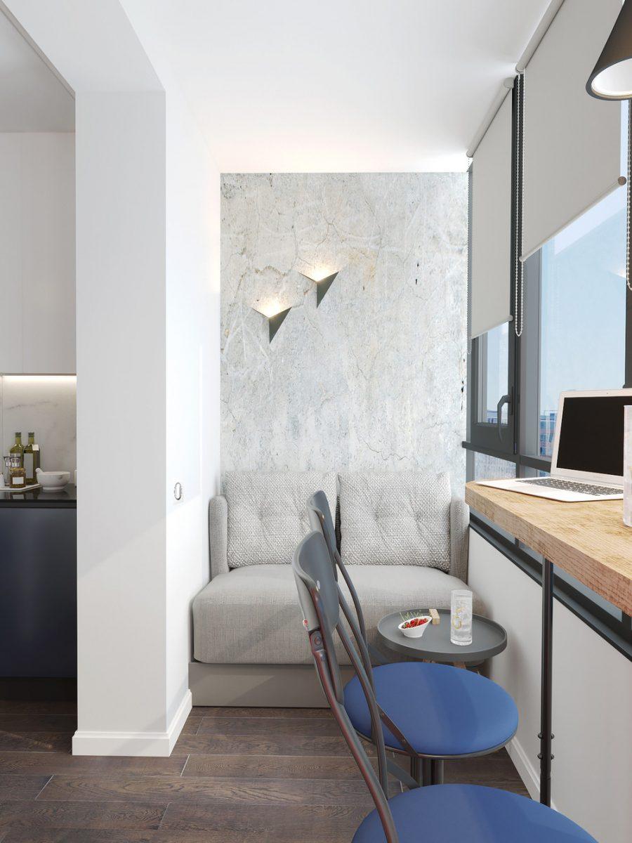 дизайн интерьера балкона фото 10