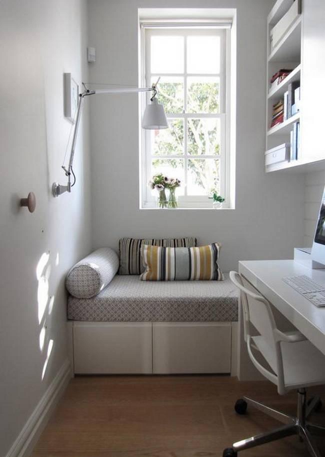 Рабочее место в маленькой квартире фото 22