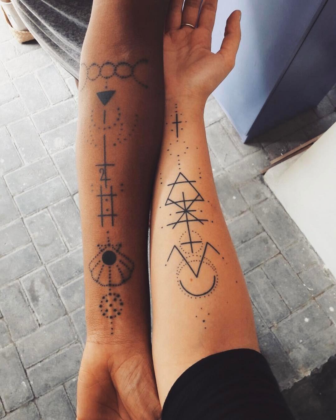 романтичные идеи татуировок фото 9