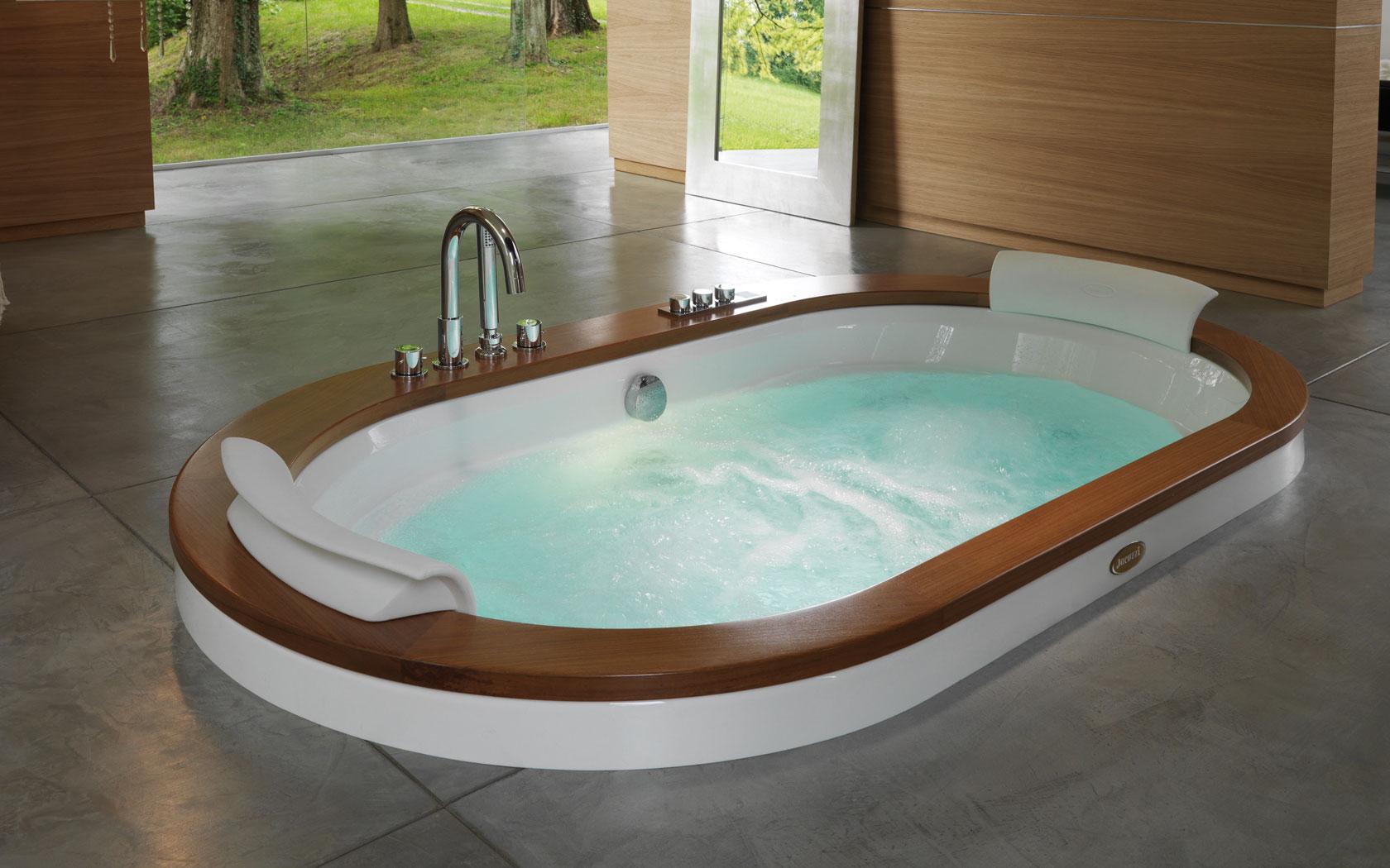 Оригинальные ванные фото 21