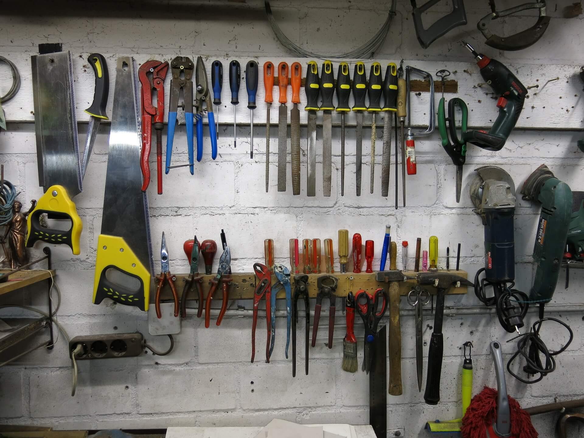 Организация инструментов фото 6
